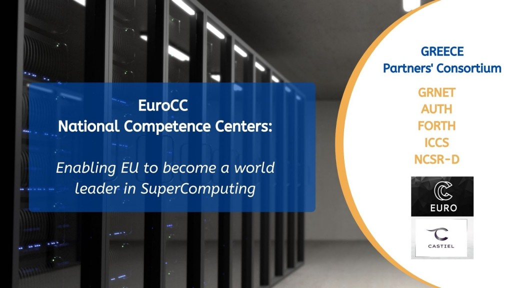 EuroCC - National Competence Centers in the framework of EuroHPC (1)